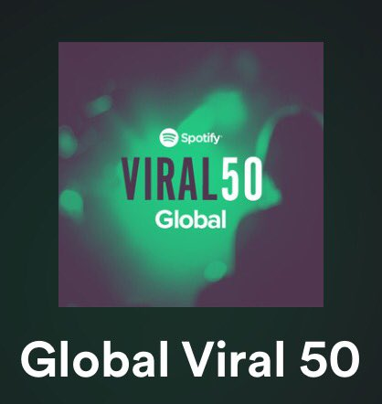 Ilyaf Is Number 7 On The Spotify Viral Charts In U S And Global Thank You Guys So Much