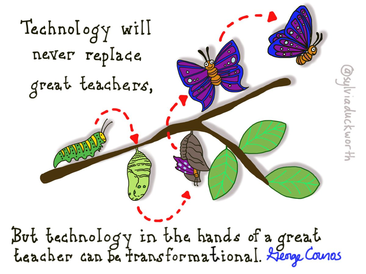 Technology in the hands of a great teacher can be transformational via@gcouros @sylviaduckworth #edtech #edchat https://t.co/reBGEAjfzX