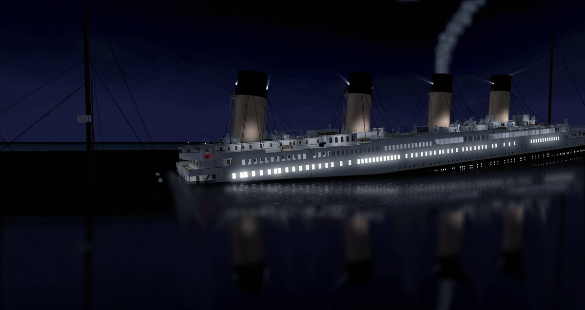 Titanic 1997 sinking sinks ideas for Queen mary fishing report