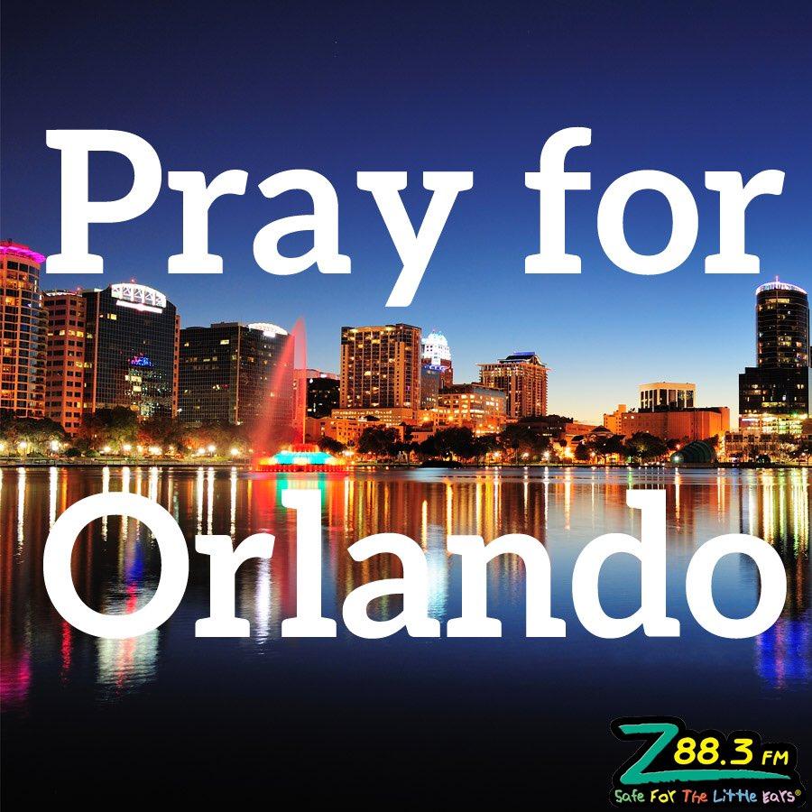 Praying for our hometown. Heartbroken. Tired of it happening locally. Loving on Orlando today. #PrayforOrlando https://t.co/WhMVxd9dT7