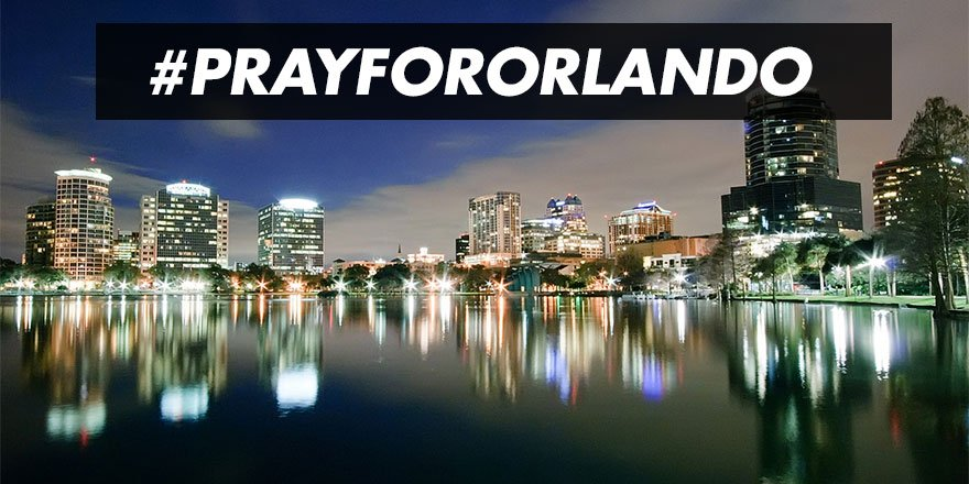 Our thoughts and prayers are with all affected by this morning's terrible tragedy. #PrayForOrlando https://t.co/XYMenmWuxN