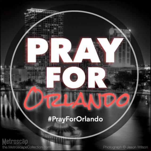 Pray for family & friends of those whose lives were lost in today's horrific gun tragedy. #PrayForOrlando https://t.co/12kbfV9zxO