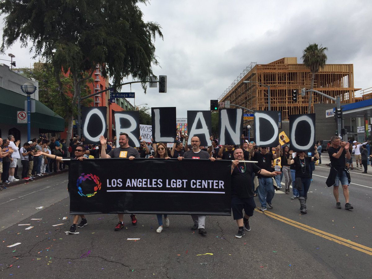 Your West Coast friends are all with you, Orlando.