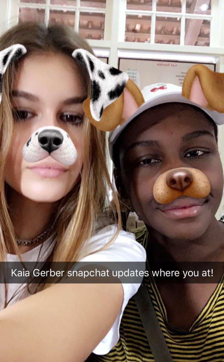 Kaia Gerber Snapchat