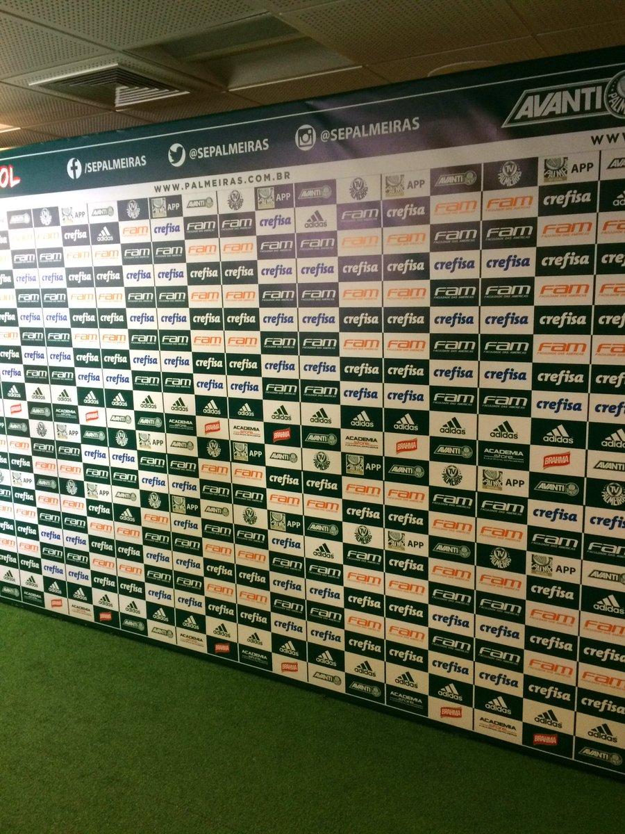 Marcelo Braga  mabragatcheloAguardamos a chegada de Palmeiras e Corinthians  no estádio  trderbi 1919fc65b10fe