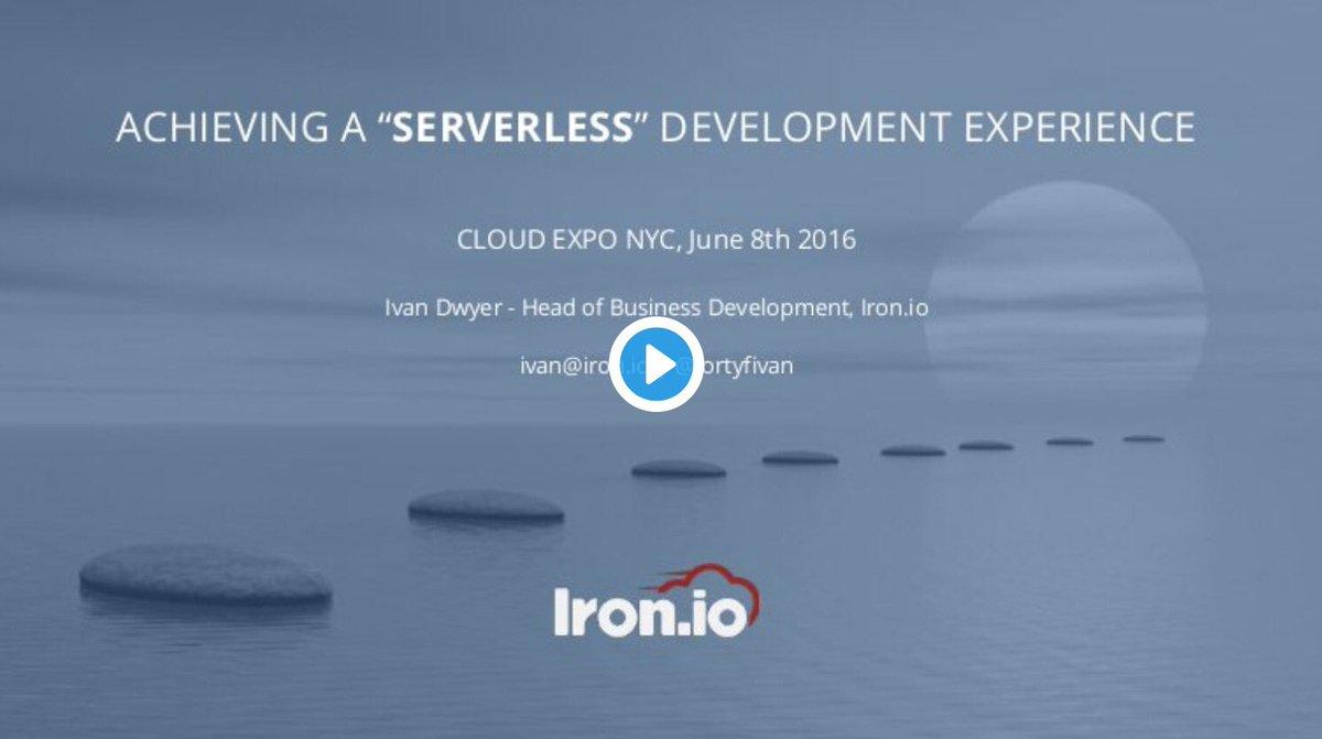 Achieving a Serverless Development Experience