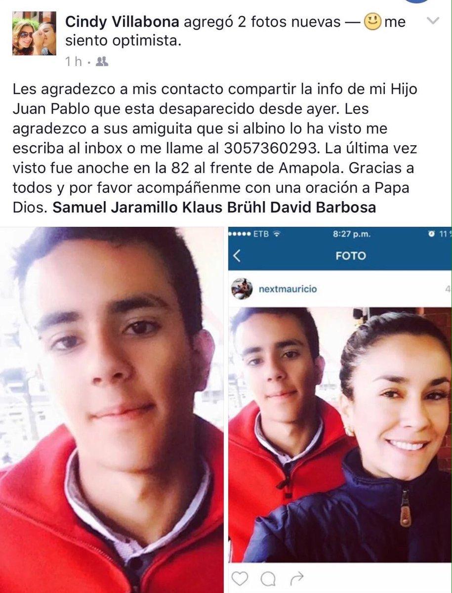 Desaparecido en Bogotá, difundir por favor: https://t.co/dRMNUV89Lz