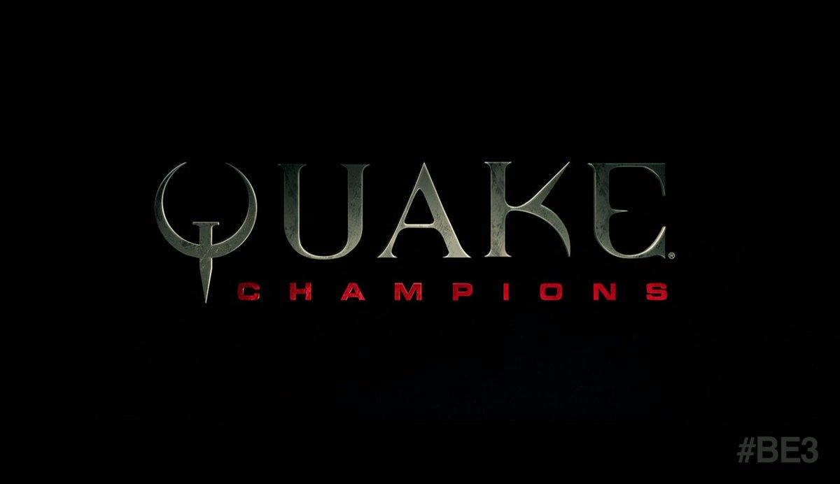 Quake Champions E3 2016 Reveal Trailer 1