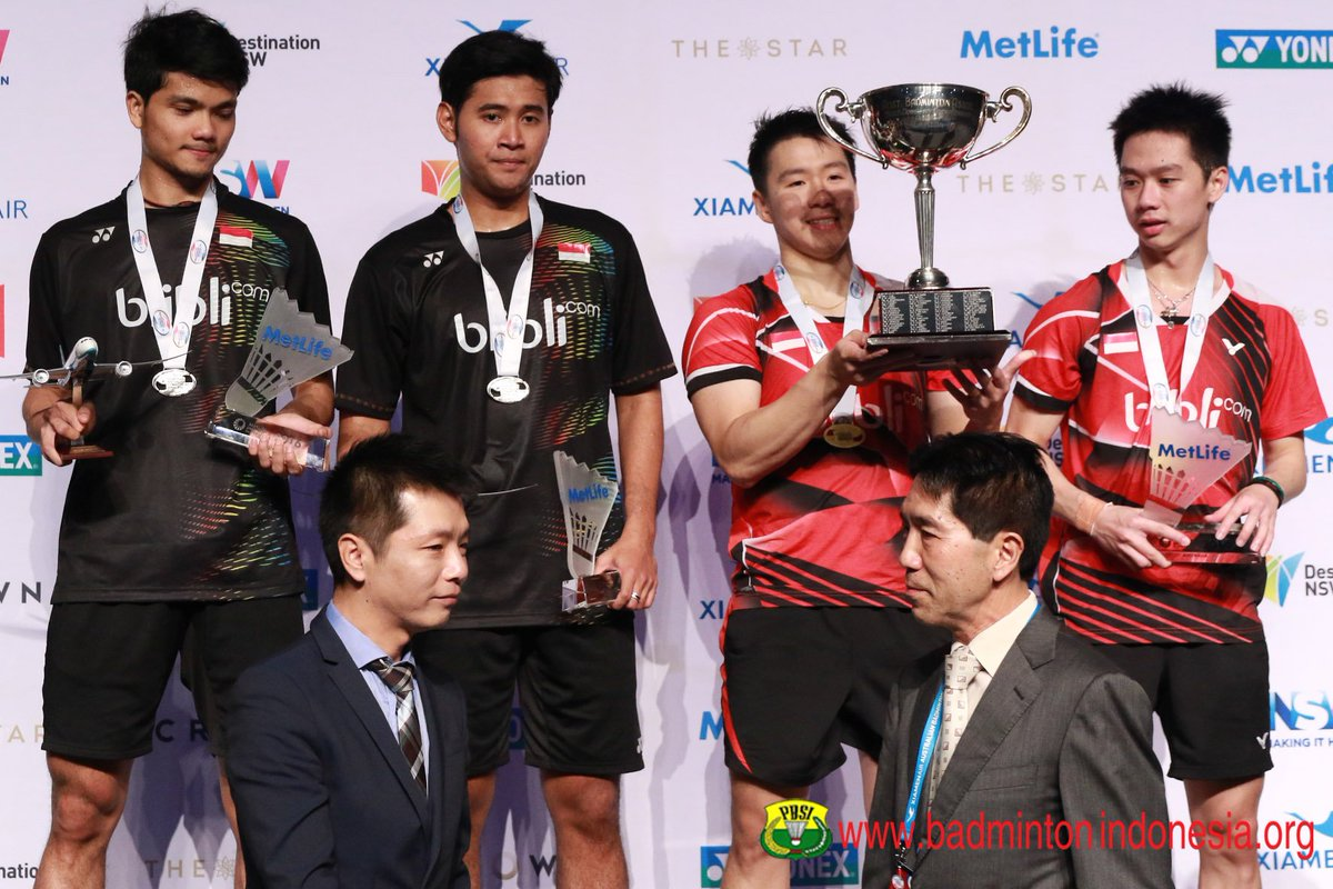 "BADMINTON INDONESIA on Twitter ""Ricky Karanda Suwardi Angga"
