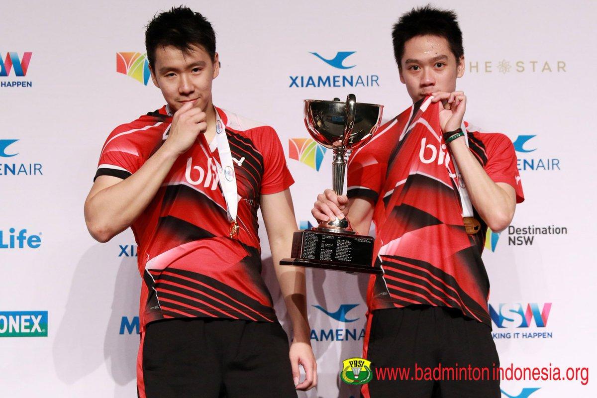 "BADMINTON INDONESIA on Twitter ""Marcus Fernaldi Gideon dan Kevin"