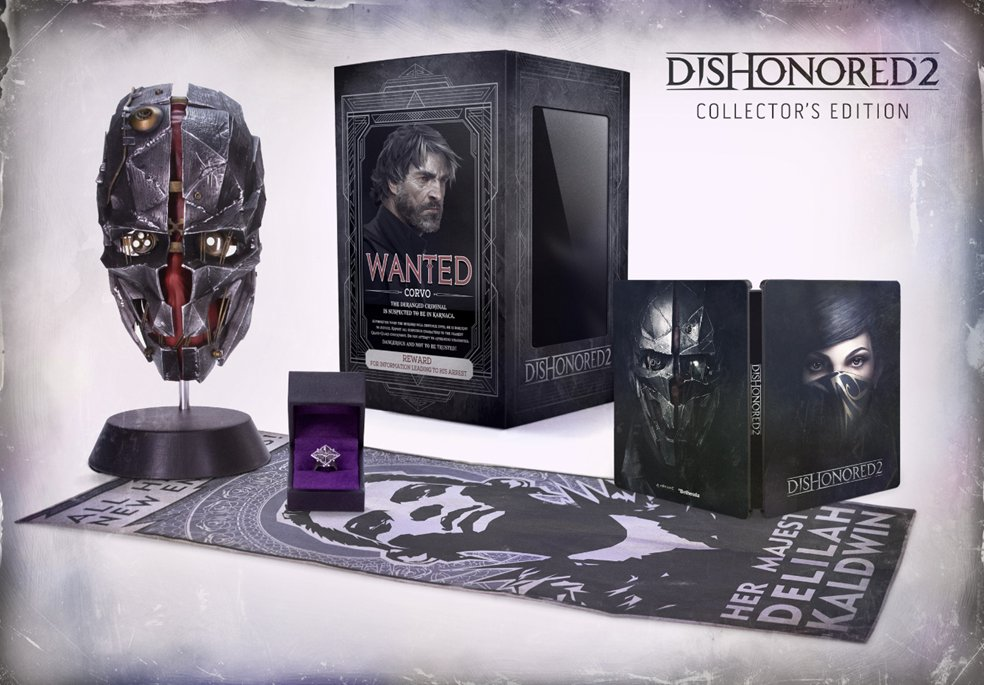 Dishonored 2 Collector's Edition CkzMLn4UoAA6LRp