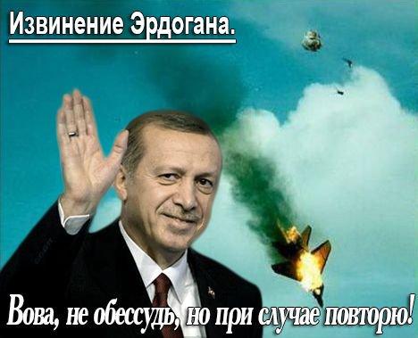 Пресс-секретарь Эрдогана подтвердил, что тот написал письмо Путину с сожалениями о сбитом самолете - Цензор.НЕТ 6557