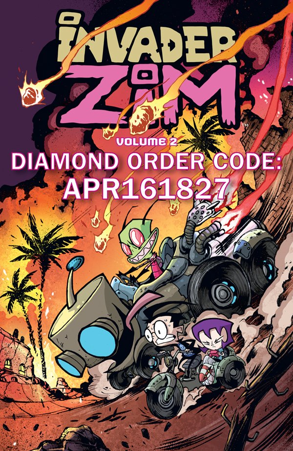 ZIM Vol. 2 is coming in August! Chuck these numbers at your local comic shop so they can stay in business! #comics https://t.co/tB9x3LYhGP