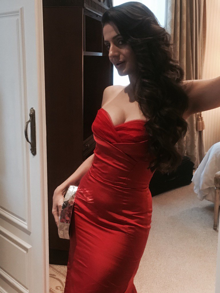 """Ameesha Patel 2016 ameesha patel on twitter: """"another selfie in the red dress"""