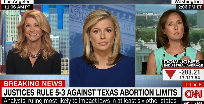 OMG the look on @wendydavis' face while RNC spokeswoman throws tantrums & repeatedly interrupts over #SCOTUS ruling. https://t.co/89jZBPMuVI
