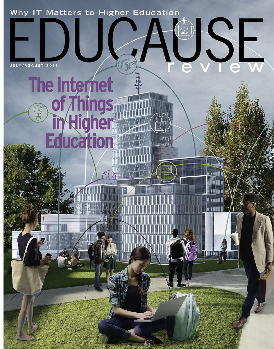 July/August 2016 issue, online & in print this week: The Internet of Things in #highered - https://t.co/oRYStdxfDE https://t.co/Ybtn0vgrsz