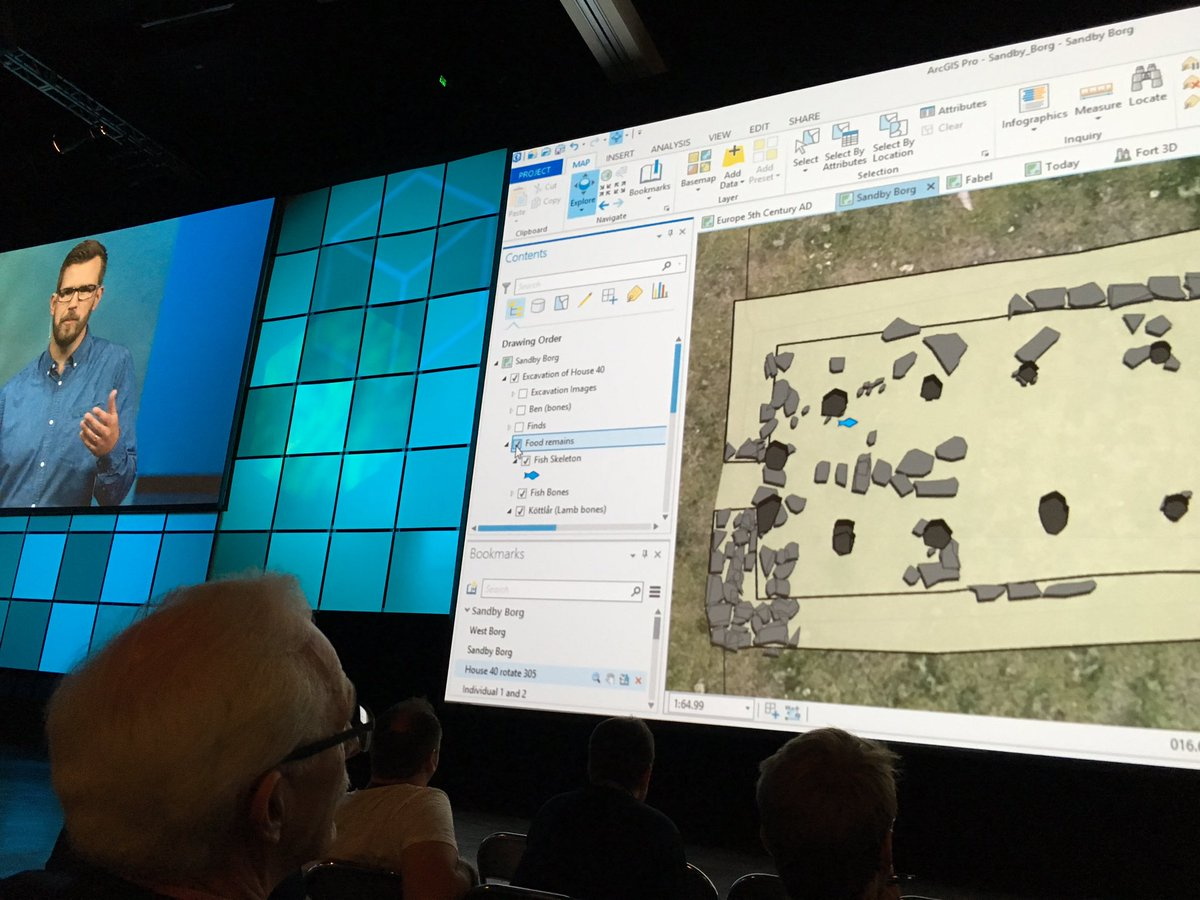 RT @impromark: @kalmarmus great GIS analysis: Turning the issue of looting into literally discovering buried treasure! #EsriUC2016 https://…