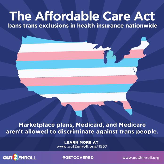 A1: #ACA bans #trans health insurance exclusions in every state. Learn more  https://t.co/2WJL7f6A3u #MillennialMon https://t.co/QiMUQWJDf4