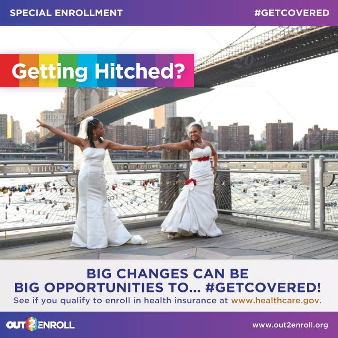 A3: Tying the knot? Celebrate knowing you can enroll in health insurance as a family within 60 days! #MillennialMon https://t.co/16Egs8AlLT