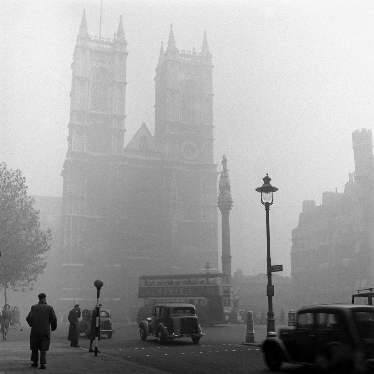лондон туманы фото