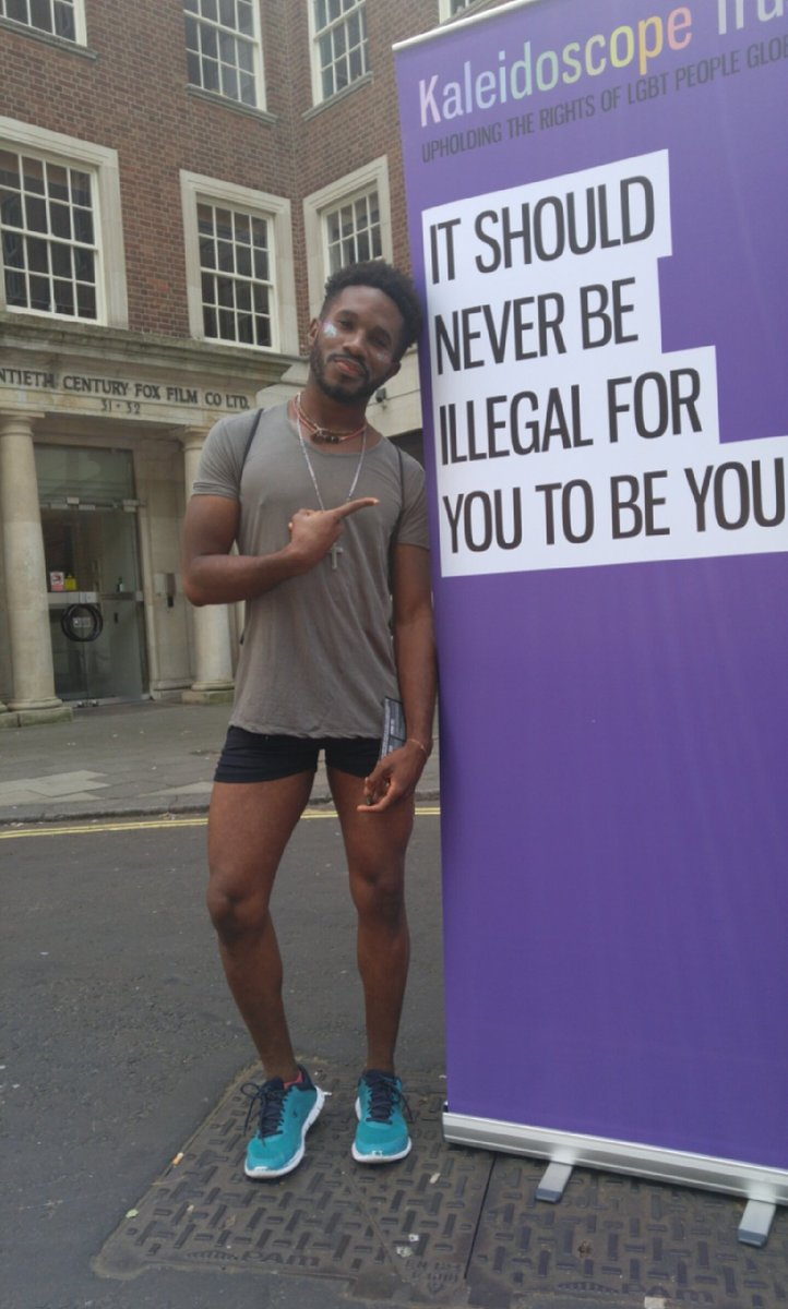 """It should never be illegal for you to be you"" remember that! #Pride2016 #LondonPride2016 https://t.co/k1bSv3dT9L"