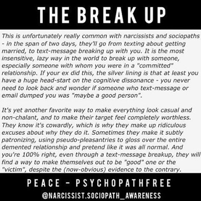 how to break up with a sociopath