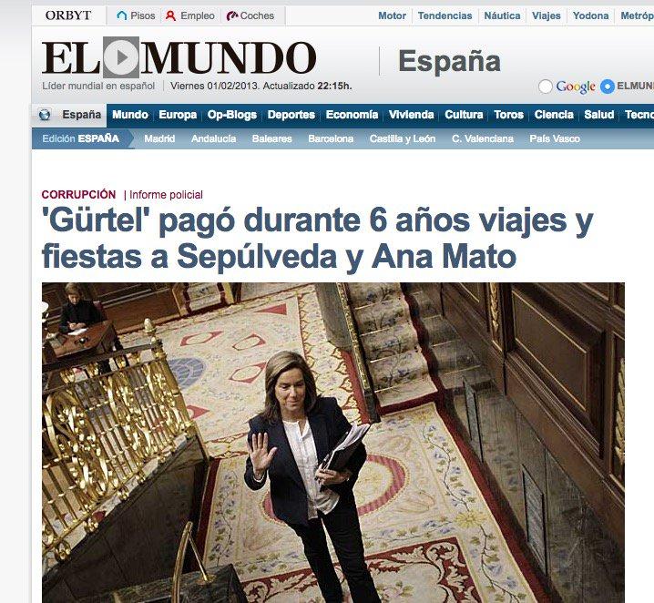 3 #JornadaDeReflexión - ANA MATO, Ministra de Sanidad (PP) https://t.co/wyK2QxnfCA