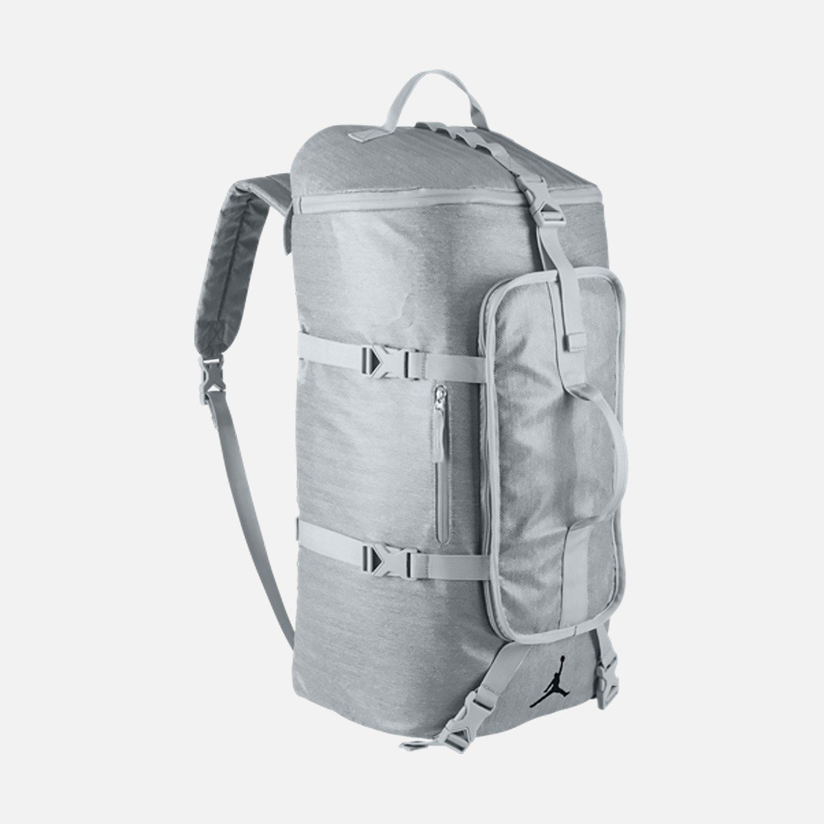 c8e40e4c195 Grab this Grey Jordan Duffle Bag for 35% off + free shipping with code