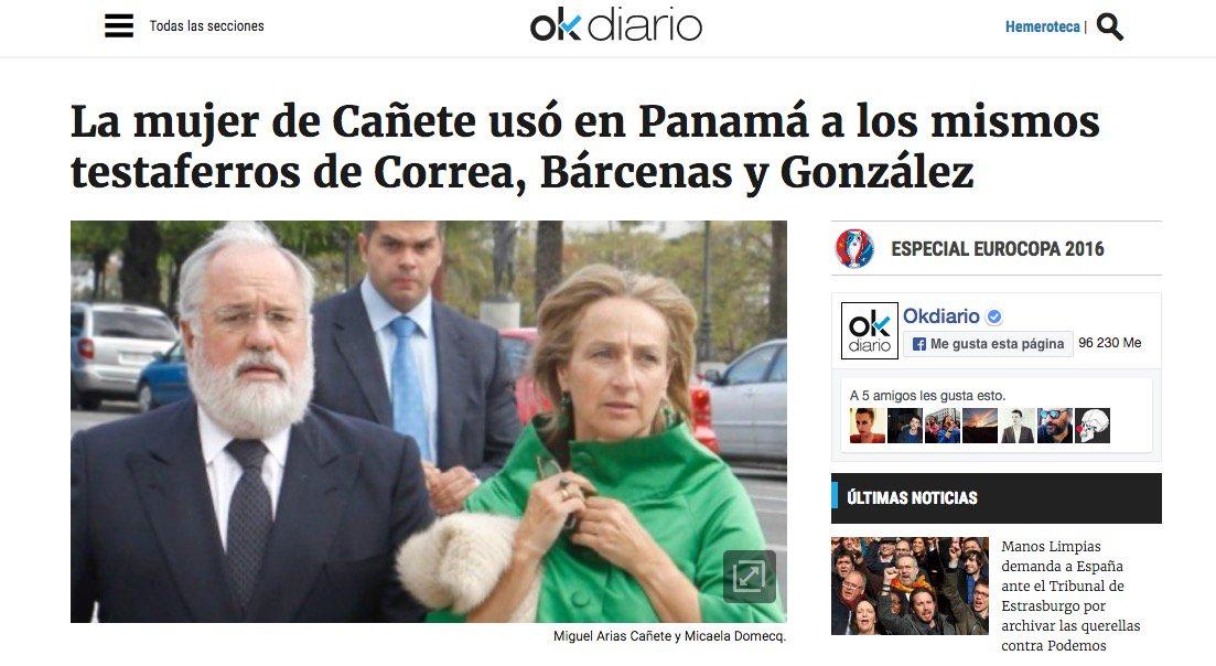 6 #JornadaDeReflexión - MIGUEL ARIAS CAÑETE, Ministro de Agricultura, Alimentación y Medio Ambiente  (PP) https://t.co/KGkIKZEuYq