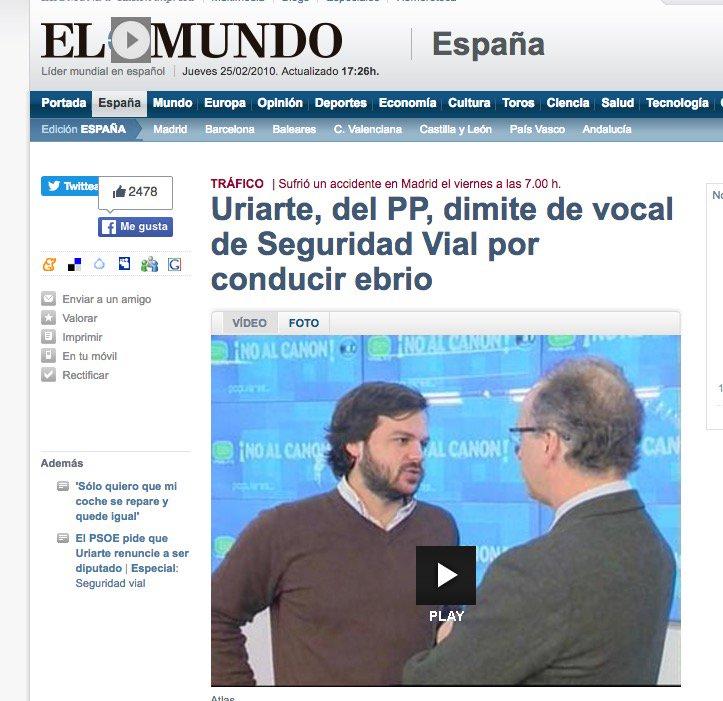 7 #JornadaDeReflexión - NACHO URIARTE, Presidente de Nuevas Generaciones del PP https://t.co/VgPhtB5KCv