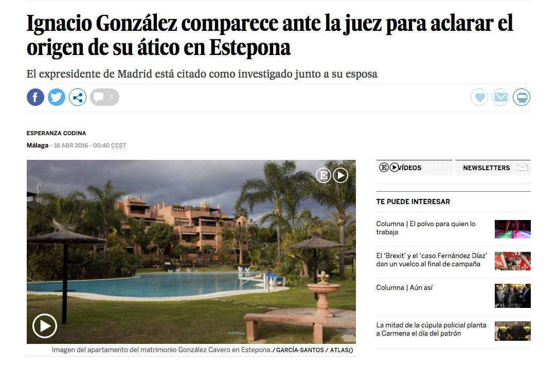12 #JornadaDeReflexión - IGNACIO GONZÁLEZ, Presidente Comunidad de Madrid (PP) https://t.co/U5QMwgLnOE