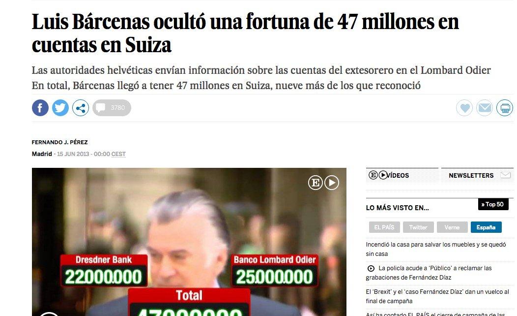 9 #JornadaDeReflexión - LUIS BÁRCENAS, Tesorero y Gerente del PP https://t.co/icVNW082sg