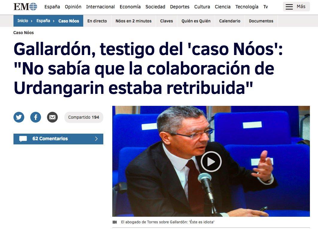 10 #JornadaDeReflexión - ALBERTO RUIZ GALLARDÓN, Alcalde de Madrid, Presidente Comunidad de Madrid (PP) https://t.co/ijVOIrx5lv
