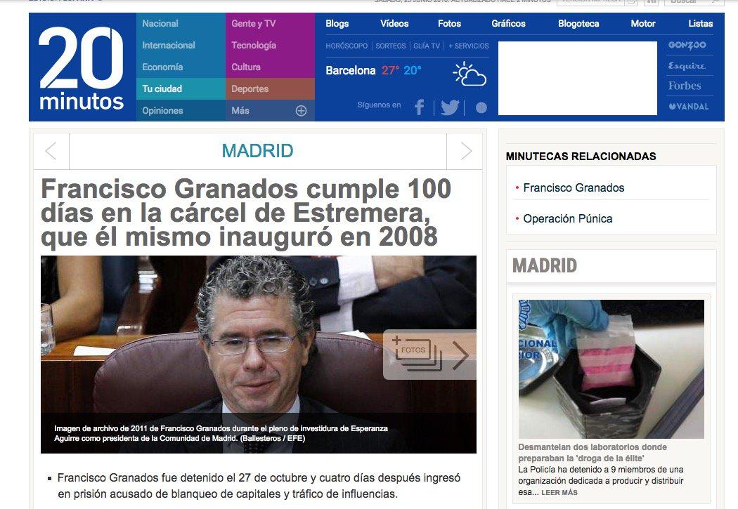 11 #JornadaDeReflexión - FRANCISCO GRANADOS, Consejero Comunidad de Madrid (PP), Número 2 del PP Madrid https://t.co/yzdBWxy78F