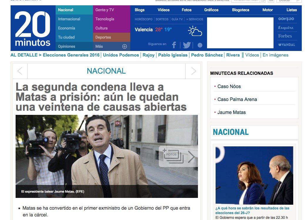 18 #JornadaDeReflexión - JAUME MATAS, Presidente de Baleares (PP) https://t.co/J3CRYPSlNI