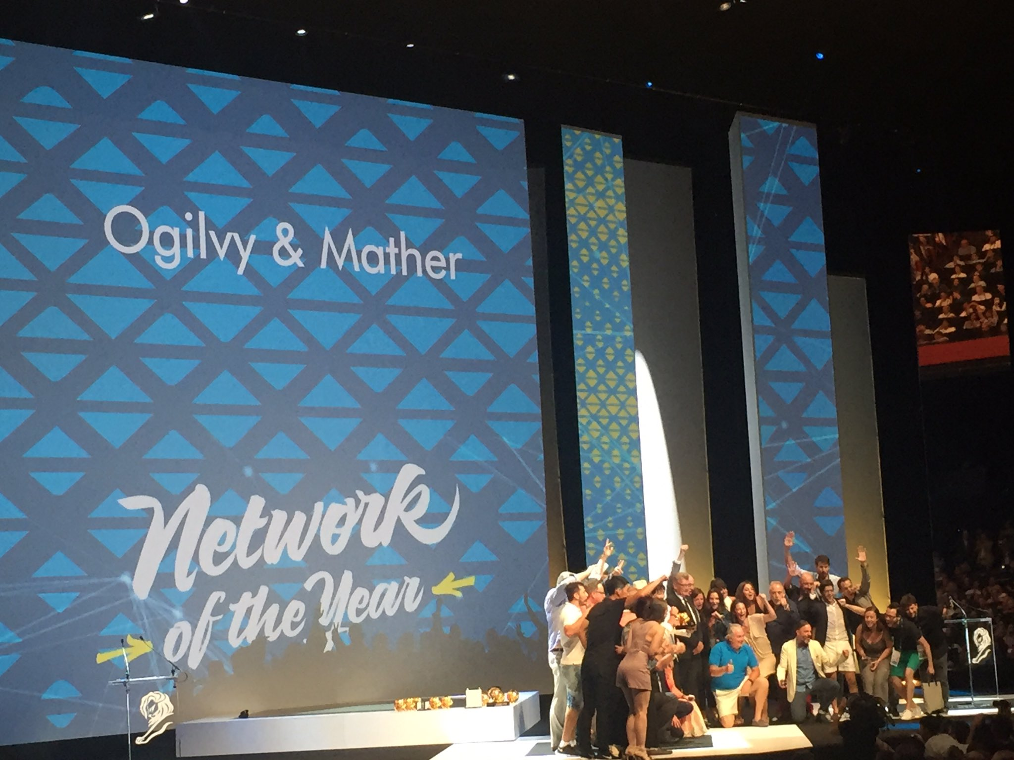 RT @adobomagazine: Congratulations, @Ogilvy, the 2016 #CannesLions Network of the Year! https://t.co/UWneouaSma