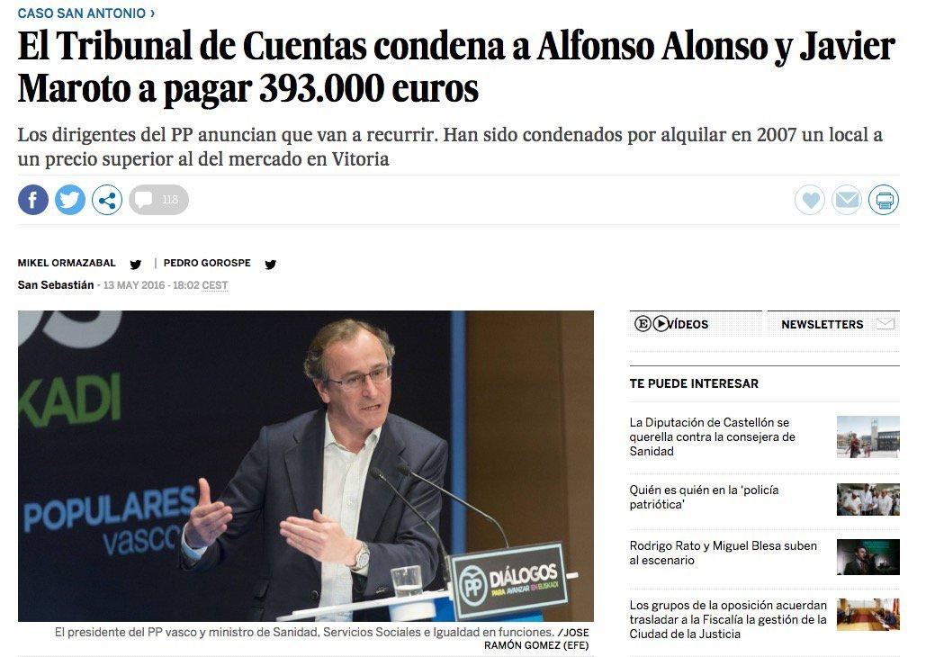 19 #JornadaDeReflexión - ALFONSO ALONSO, Ministro de Sanidad (PP) https://t.co/NWX7Ywzrxs