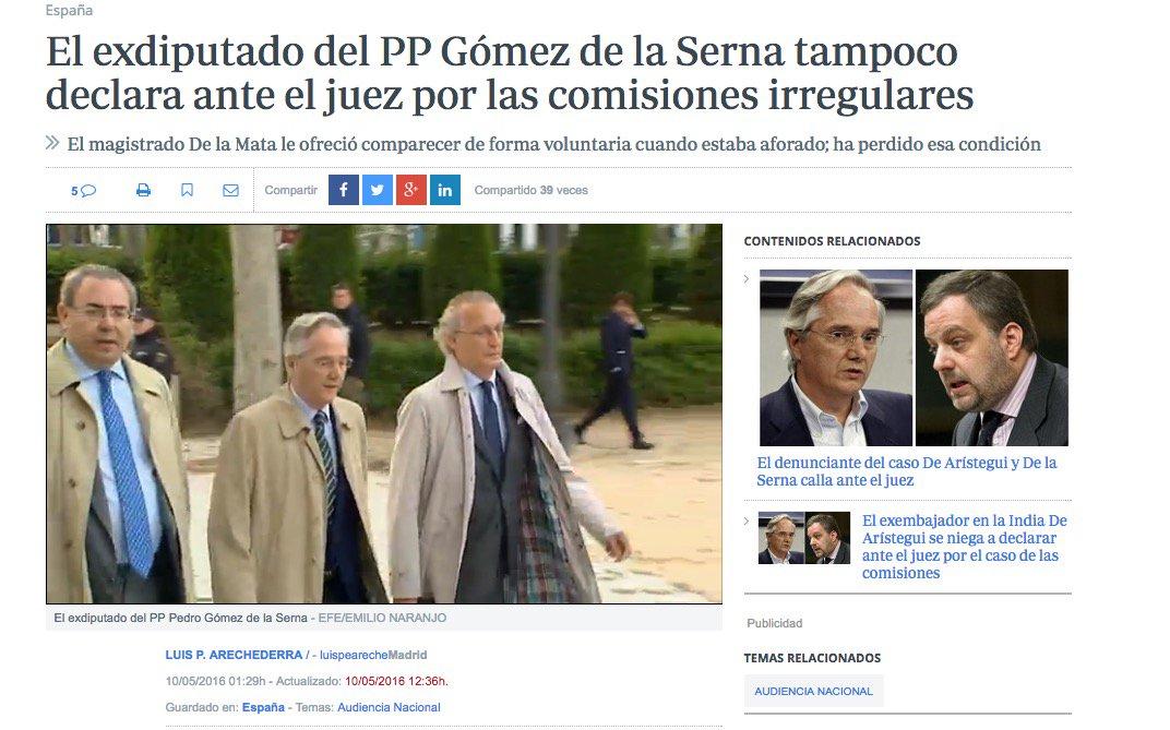 23 #JornadaDeReflexión - PEDRO GÓMEZ DE LA SERNA, Diputado PP. https://t.co/5uJxDCS35a