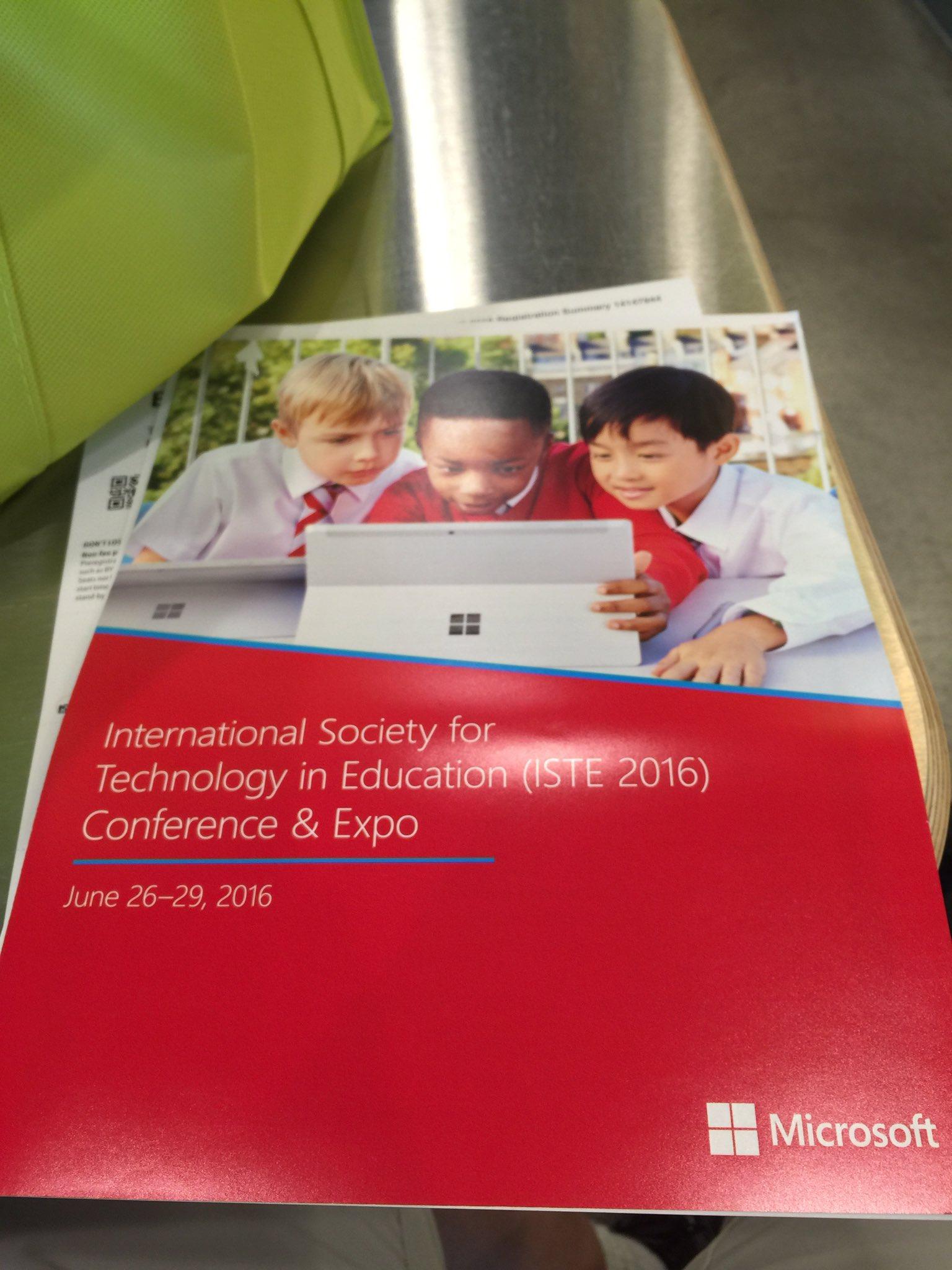 Excited to begin! @Microsoft_EDU #FCPSISTE #ISTE2016 https://t.co/Yi8tgnT0aE