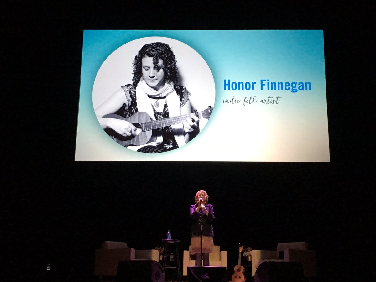 Now it's time for real performance by @HonorFinnegan at @heartful_ness #meditation conference #heartfulness @NJPAC https://t.co/Ys5LmHPdZ0