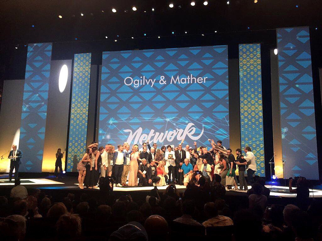 RT @brandonberger: So proud of the entire @Ogilvy Network and our amazing clients for our Network of the Year #5peat #OgilvyCannes https://…