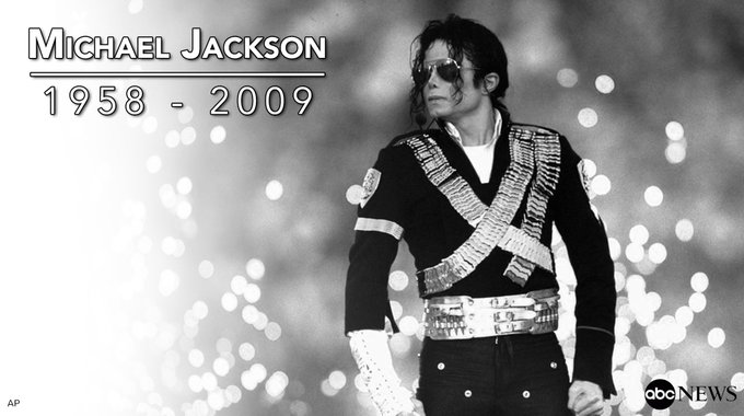 Michael Jackson passed away 8 years ago this Sunday.  We remember the King of Pop. Rest in peace... https://t.co/OGTTVcIgjm