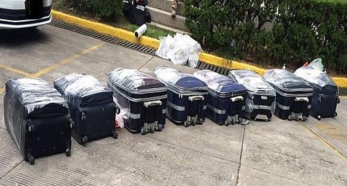 Revisan ilegalmente equipaje al Presidente AN @hramosallup, pero las maletas de talco de Aeroméxico... ¡prohibido! https://t.co/Tm1MiaaQaX