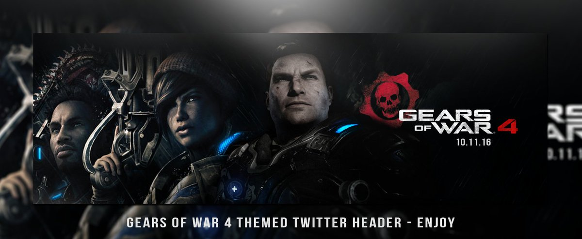 ashley on twitter gears of war 4 twitter header for whoever that