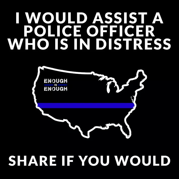 Would you assist a police officer in distress? If you do, please retweet. https://t.co/eiTKAZROox