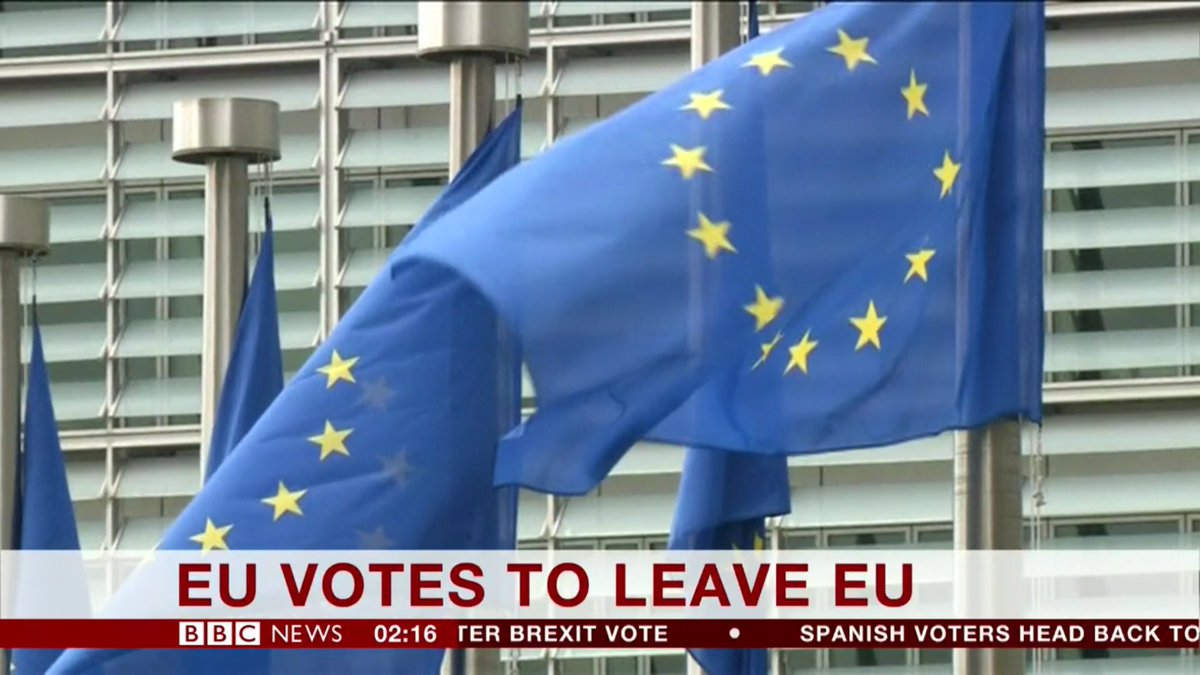 BREAKING: According to the BBC, the EU has now decided to give up on itself.  #EUxit https://t.co/EB6o5Cie9p