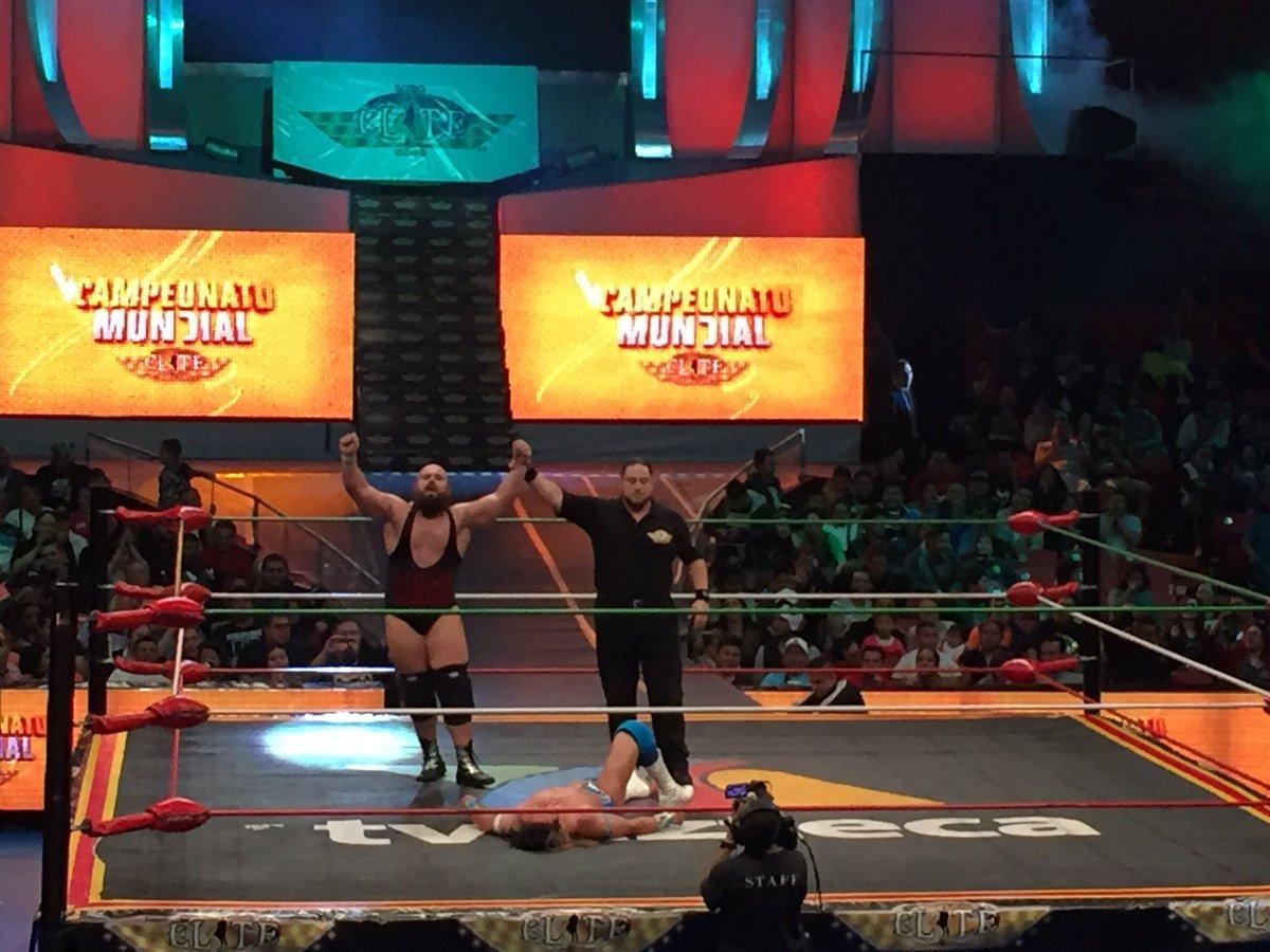 CMLL: Una mirada semanal al CMLL (del 23 al 29 de junio de 2016) - Zeuxis, reina nacional; Michael Elgin se corona en Elite; Joker, monarca medio de Occidente y más... 8