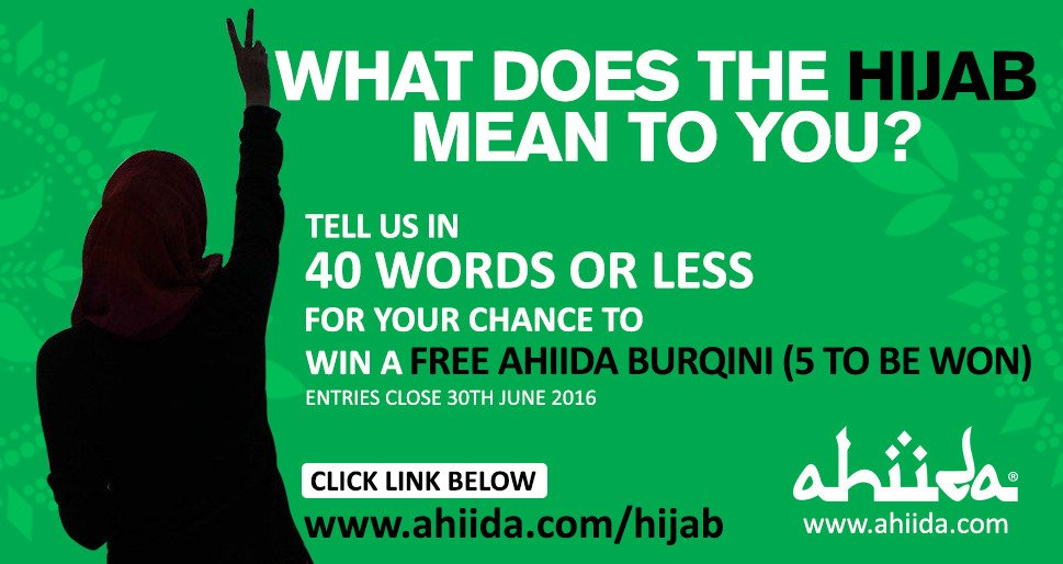 Ahiida On Twitter What Does The Hijab Mean To You Tell Us