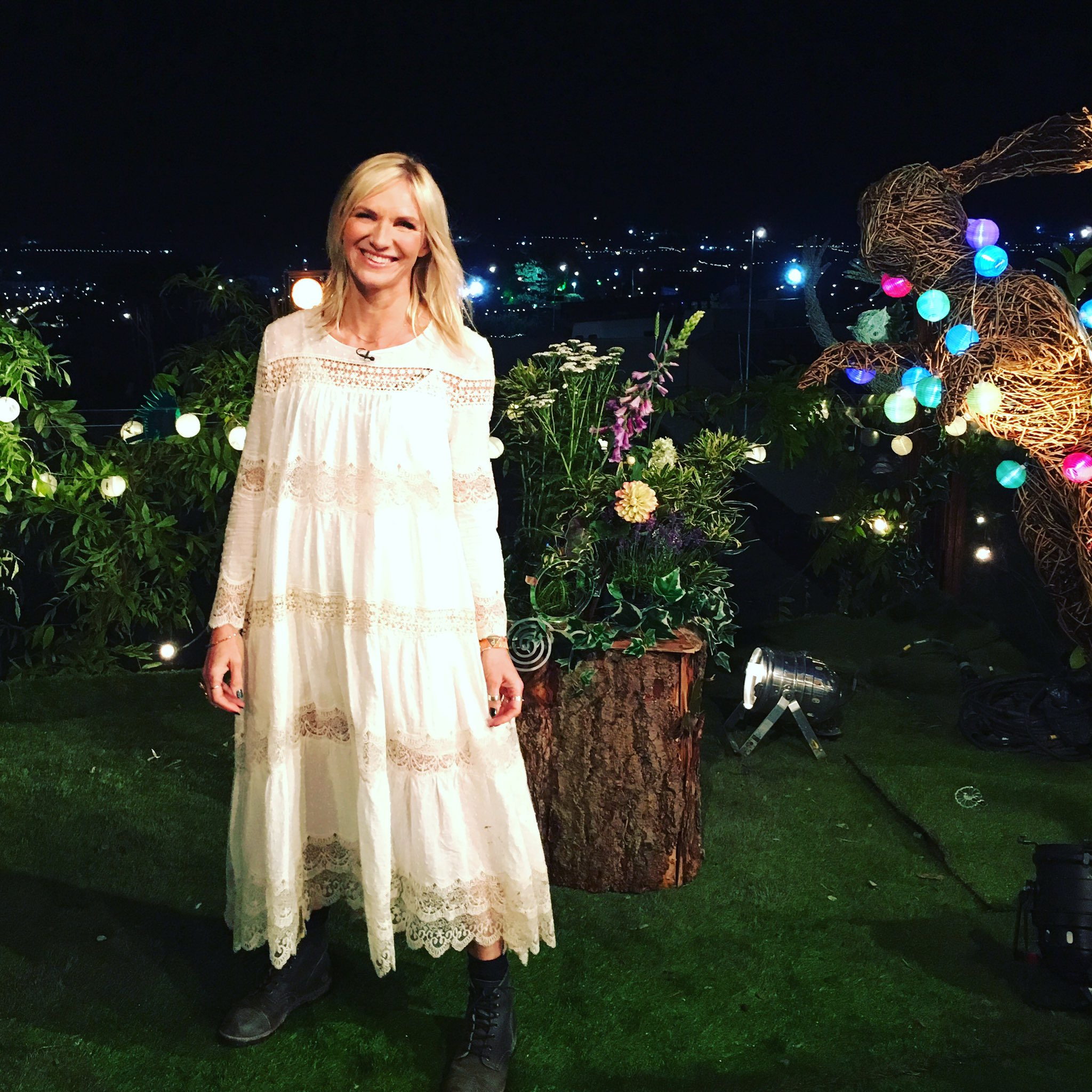 A few people asking about this @GlastoFest dress. It's by @Mes_Desmoiselles & is very lovely & floaty to wear https://t.co/CbUugGnFZ7