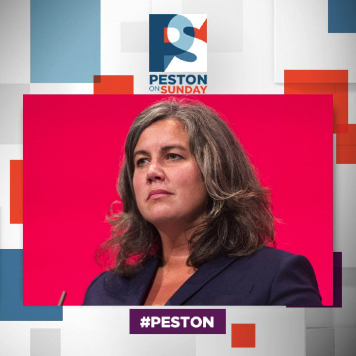 RT @pestononsunday: UPDATE: @heidi_mp joins us today at 10am @ITV #Peston https://t.co/pMiOxwvJh3